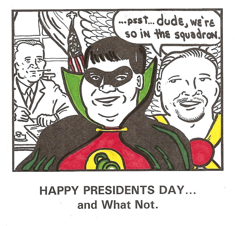 Raging Presidents Day