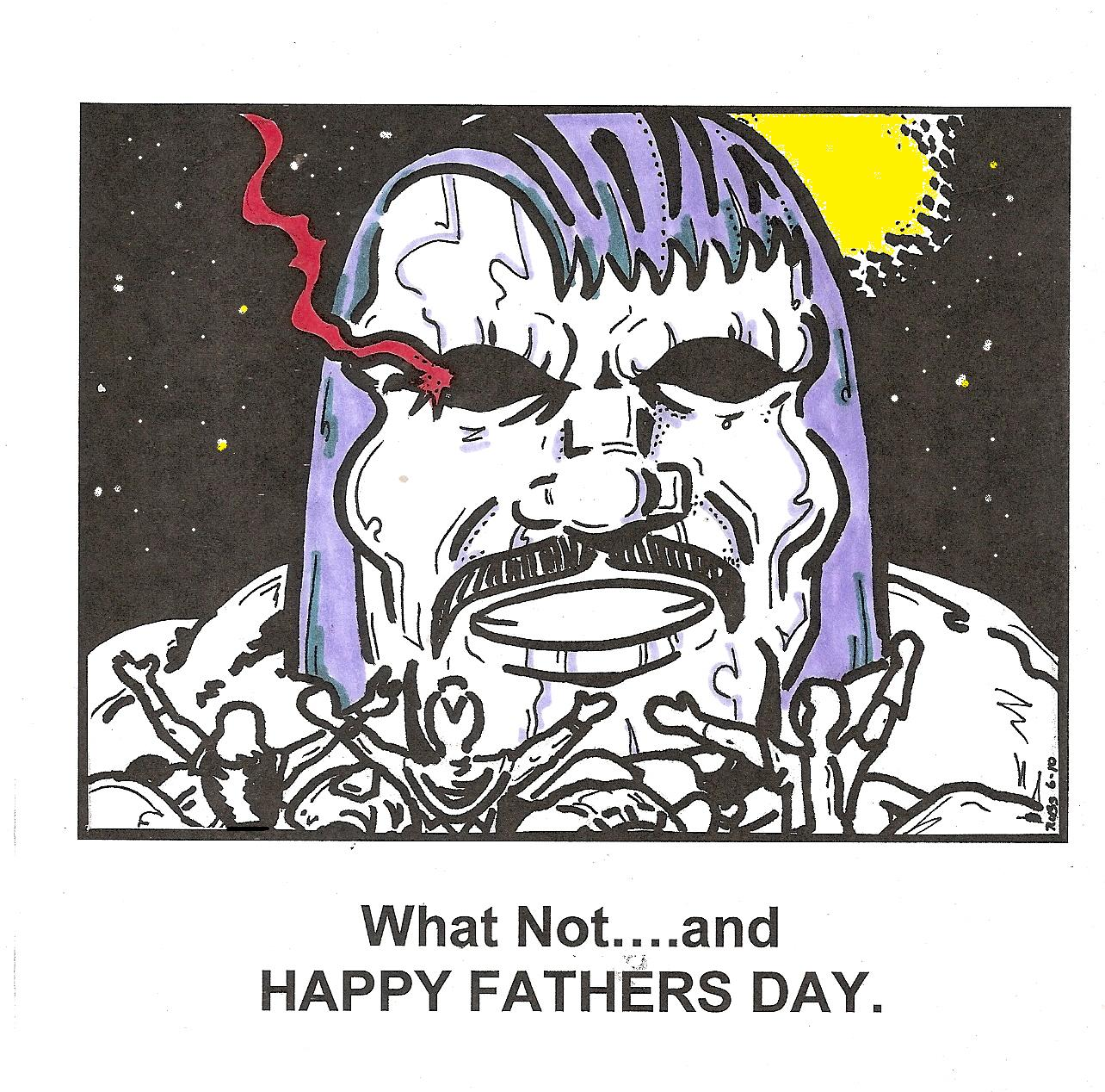 what-not-and-happy-fathers-day